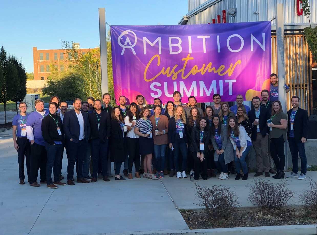 The Gang at the Ambition Customer Summit
