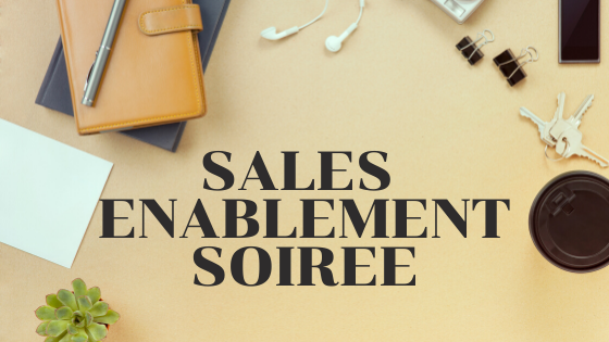 or Join us at the Sales Enablement Soiree