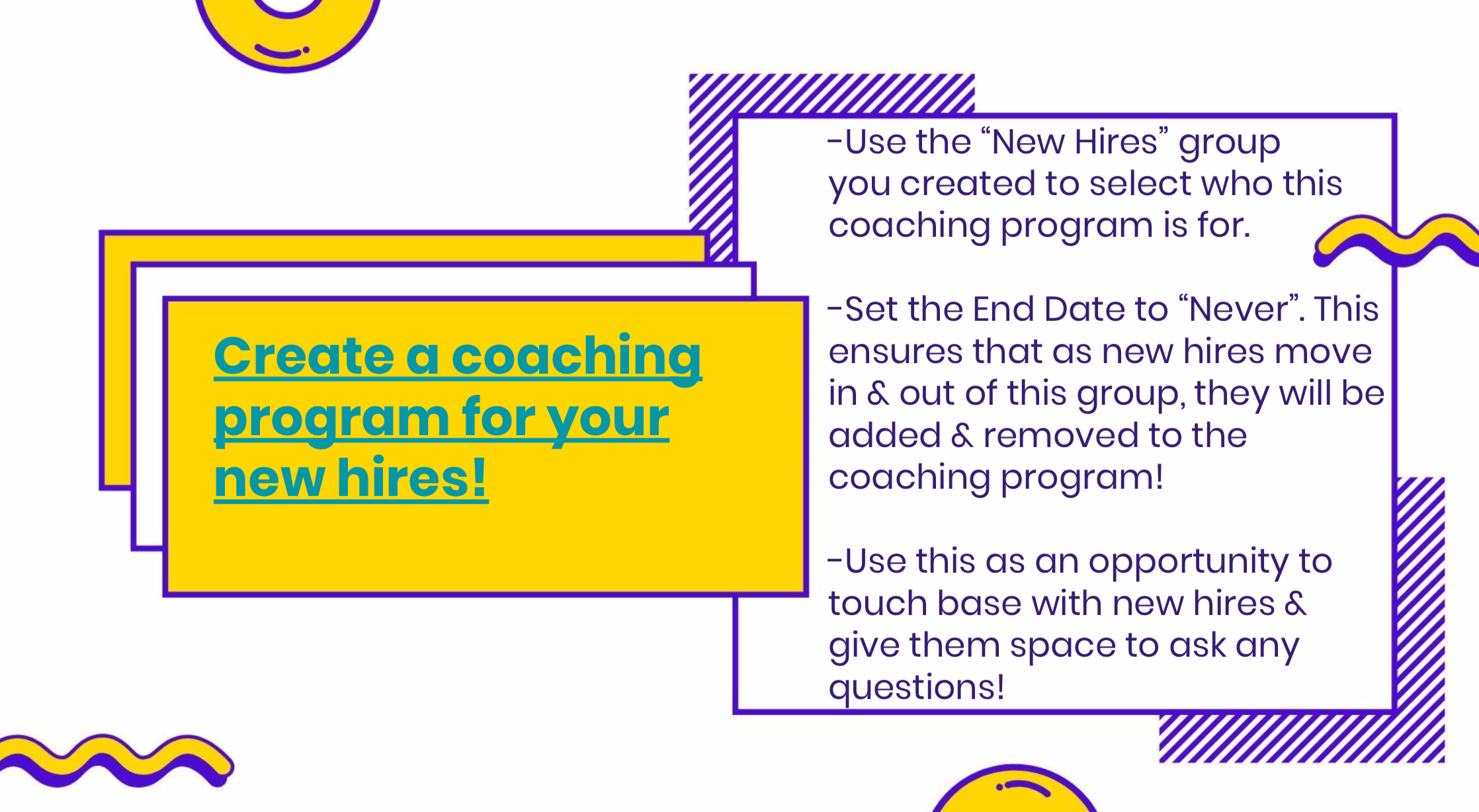 new hire coaching program