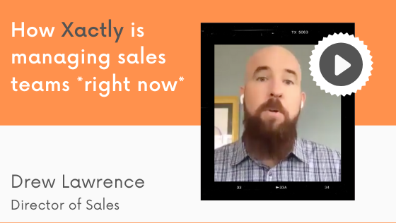 How xactly is managing sales teams *right now*