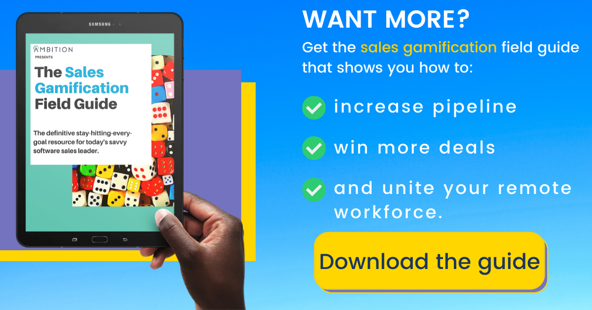 Download the Sales Gamification Field Guide