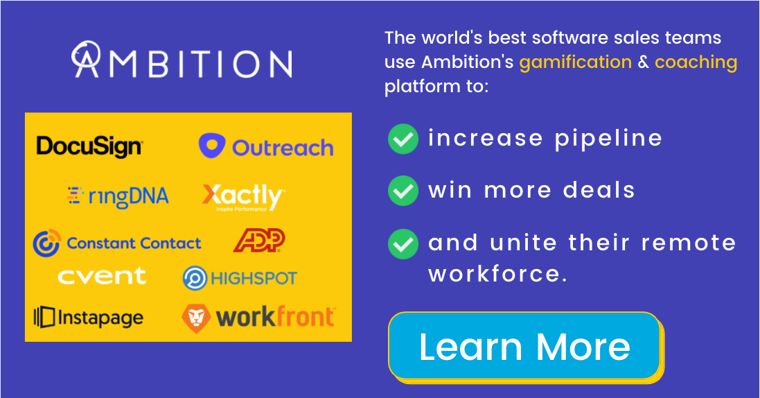 Ready to see what Ambition can for you? Get a demo!
